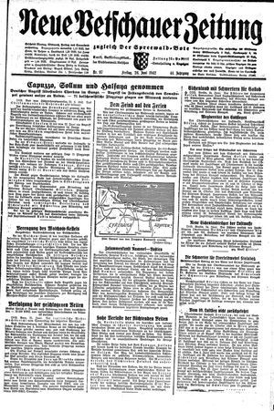 Neue Vetschauer Zeitung vom 26.06.1942