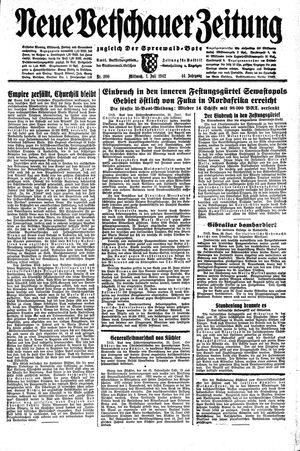 Neue Vetschauer Zeitung vom 01.07.1942
