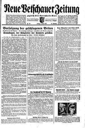 Neue Vetschauer Zeitung vom 03.07.1942