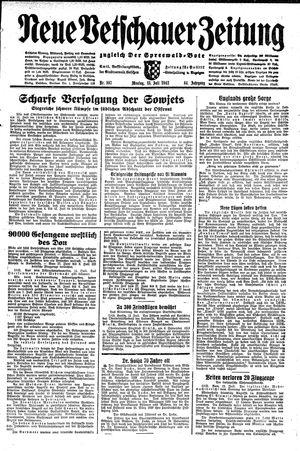 Neue Vetschauer Zeitung vom 13.07.1942