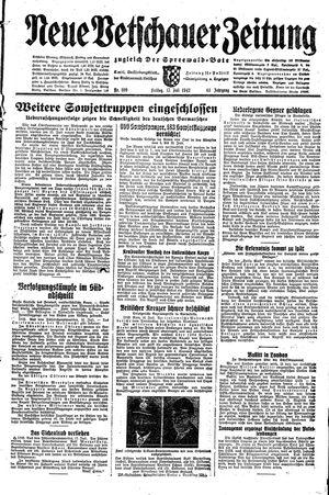 Neue Vetschauer Zeitung vom 17.07.1942