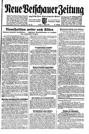 Neue Vetschauer Zeitung vom 07.08.1942