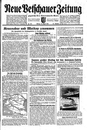 Neue Vetschauer Zeitung vom 10.08.1942