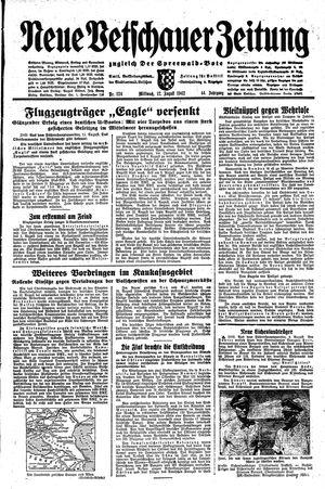 Neue Vetschauer Zeitung vom 12.08.1942