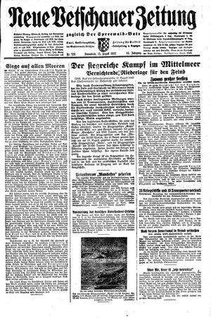 Neue Vetschauer Zeitung vom 15.08.1942