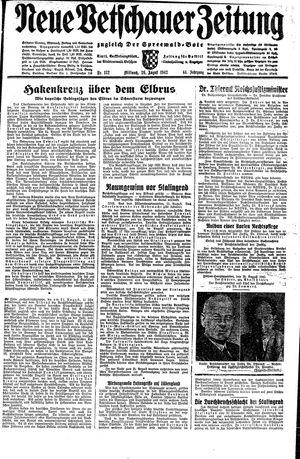 Neue Vetschauer Zeitung vom 26.08.1942