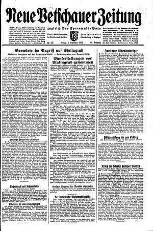 Neue Vetschauer Zeitung vom 04.09.1942