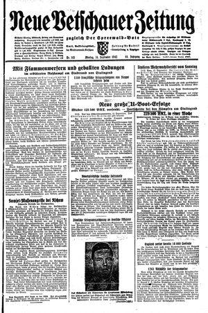 Neue Vetschauer Zeitung vom 14.09.1942