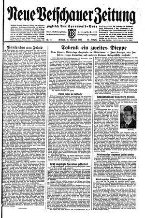 Neue Vetschauer Zeitung on Sep 16, 1942