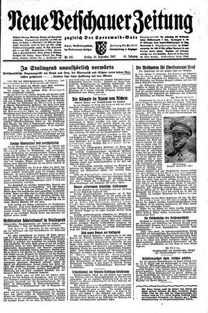 Neue Vetschauer Zeitung vom 18.09.1942