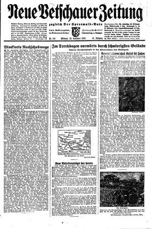 Neue Vetschauer Zeitung vom 23.09.1942