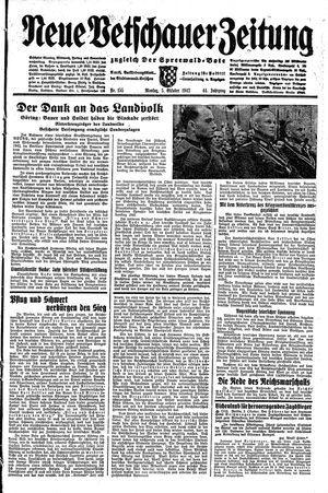 Neue Vetschauer Zeitung vom 05.10.1942