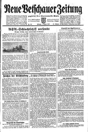 Neue Vetschauer Zeitung vom 07.10.1942