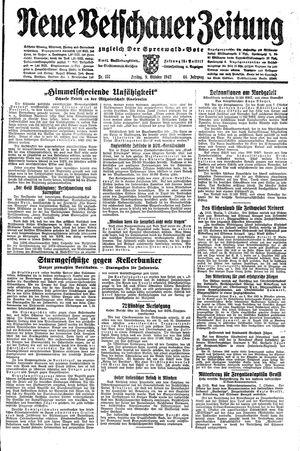 Neue Vetschauer Zeitung vom 09.10.1942