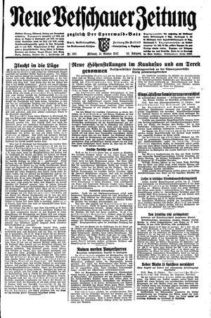 Neue Vetschauer Zeitung vom 14.10.1942
