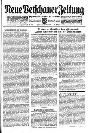 Neue Vetschauer Zeitung on Oct 21, 1942