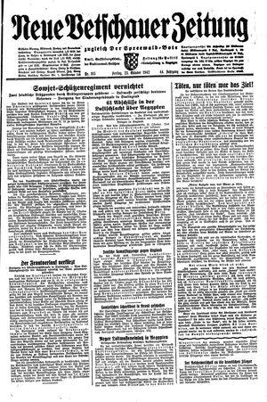 Neue Vetschauer Zeitung vom 23.10.1942