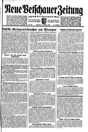 Neue Vetschauer Zeitung vom 24.10.1942