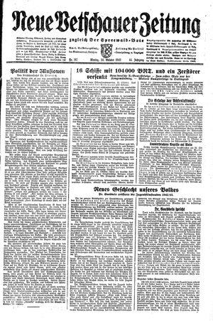 Neue Vetschauer Zeitung vom 26.10.1942