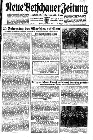 Neue Vetschauer Zeitung vom 28.10.1942