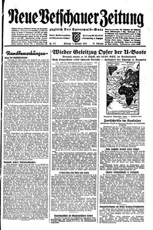 Neue Vetschauer Zeitung vom 04.11.1942