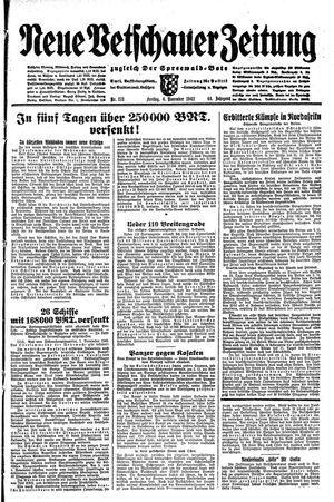 Neue Vetschauer Zeitung vom 06.11.1942