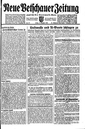 Neue Vetschauer Zeitung vom 13.11.1942