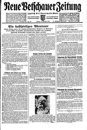 Neue Vetschauer Zeitung vom 16.11.1942