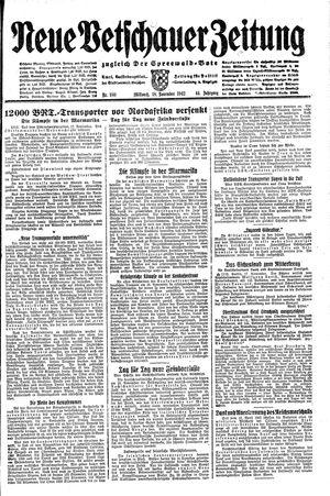 Neue Vetschauer Zeitung vom 18.11.1942