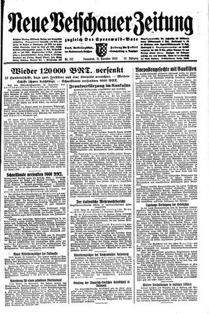 Neue Vetschauer Zeitung vom 21.11.1942