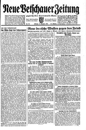 Neue Vetschauer Zeitung vom 25.11.1942