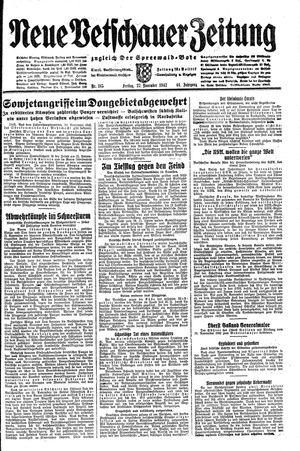 Neue Vetschauer Zeitung vom 27.11.1942