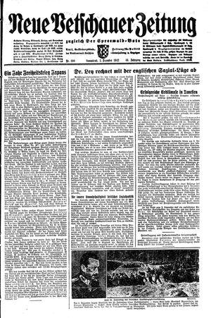 Neue Vetschauer Zeitung vom 05.12.1942
