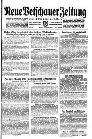 Neue Vetschauer Zeitung vom 14.12.1942