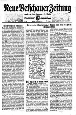 Neue Vetschauer Zeitung vom 06.01.1943