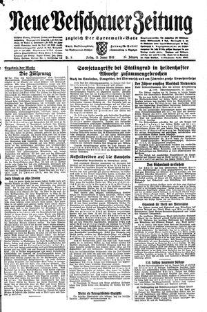 Neue Vetschauer Zeitung vom 15.01.1943