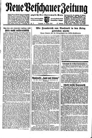 Neue Vetschauer Zeitung vom 16.01.1943