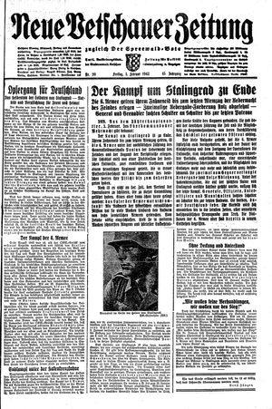 Neue Vetschauer Zeitung vom 05.02.1943