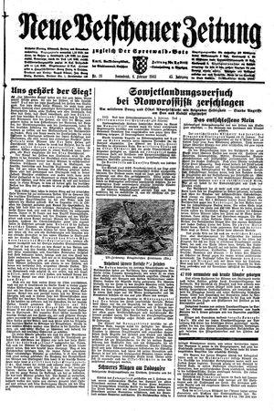 Neue Vetschauer Zeitung vom 06.02.1943