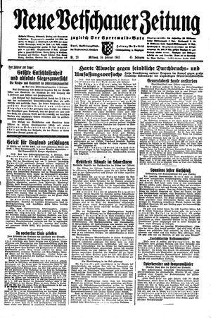 Neue Vetschauer Zeitung vom 10.02.1943