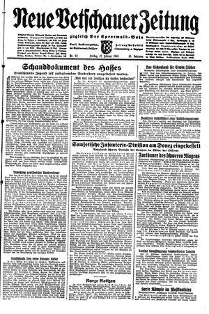 Neue Vetschauer Zeitung vom 12.02.1943