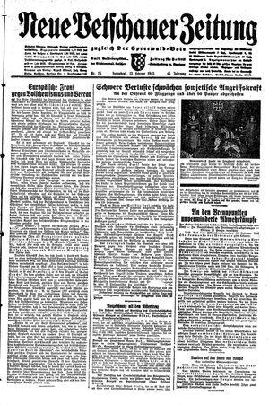 Neue Vetschauer Zeitung vom 13.02.1943