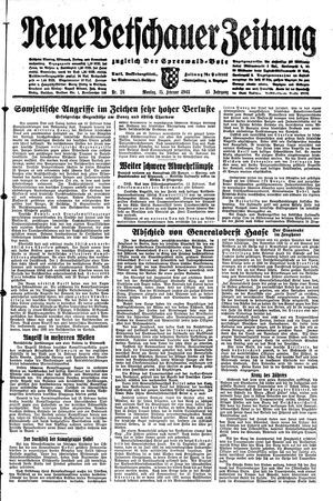 Neue Vetschauer Zeitung vom 15.02.1943