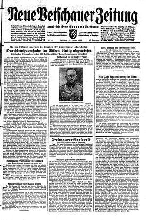 Neue Vetschauer Zeitung vom 17.02.1943
