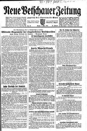 Neue Vetschauer Zeitung vom 08.03.1943