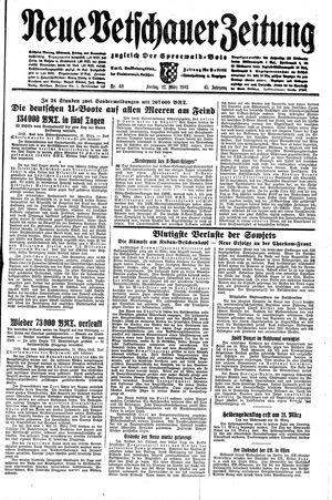 Neue Vetschauer Zeitung vom 12.03.1943