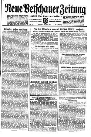 Neue Vetschauer Zeitung vom 13.03.1943
