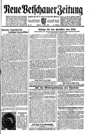 Neue Vetschauer Zeitung vom 17.03.1943