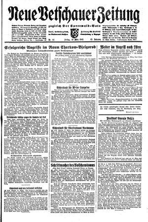 Neue Vetschauer Zeitung vom 19.03.1943