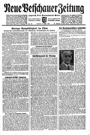 Neue Vetschauer Zeitung vom 27.03.1943